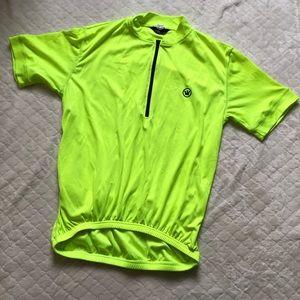 Canari neon yellow bike jersey/M